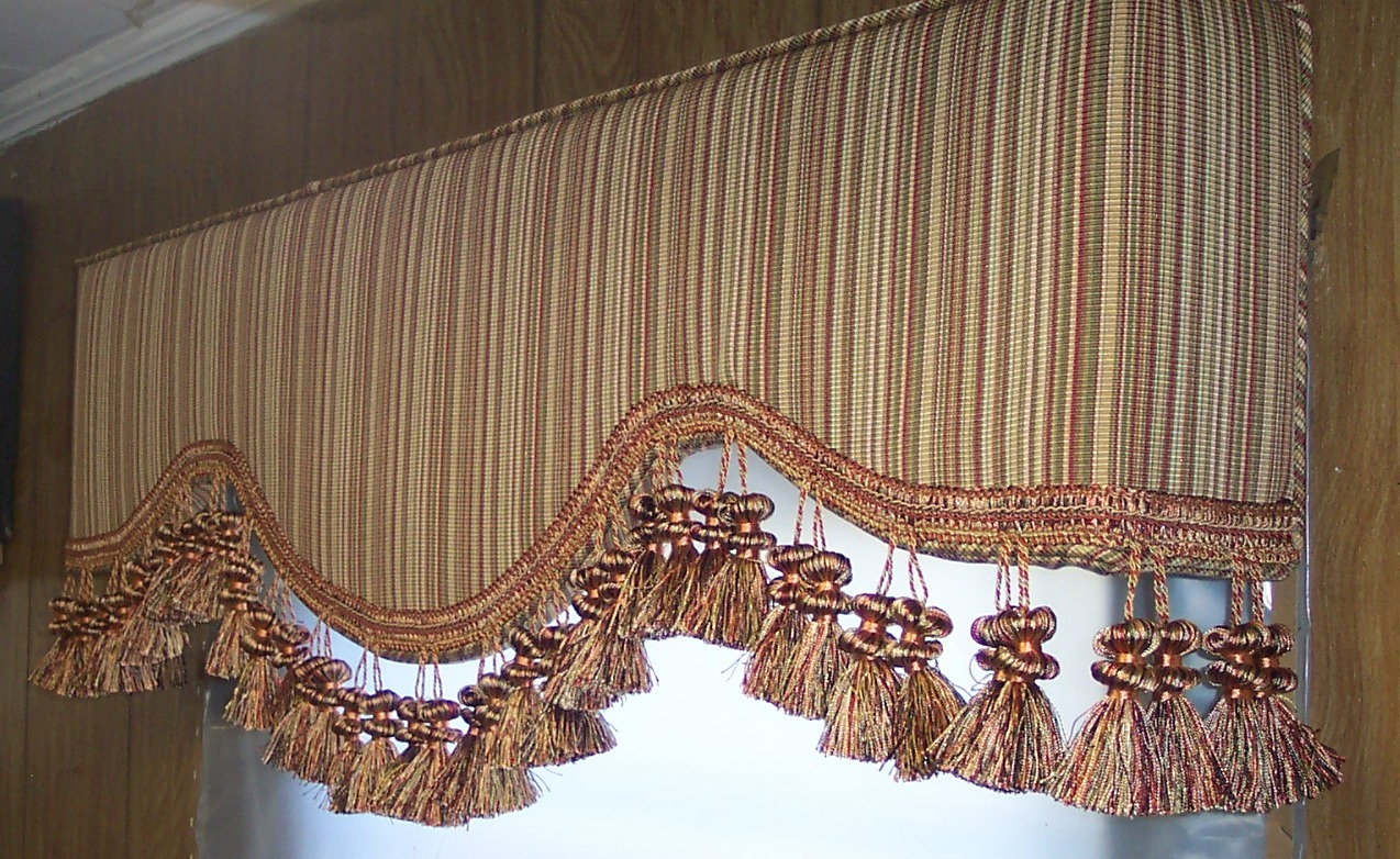 Tempe upholstered cornice boards